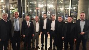 Başkan Eroğlu, Tokatlı iş insanları ile buluştu