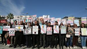 Tiyatroculardan yönetmelik değişikliği protestosu