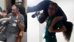Hastanede çekilen görüntüler sosyal medyada paylaşıldı Soruşturma başlatıldı