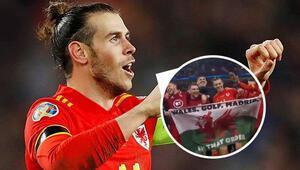 Gareth Baleden Real Madride olay gönderme
