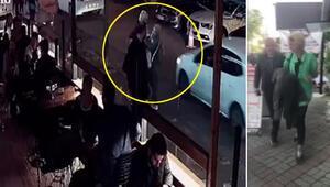 Son dakika: Beşiktaşta kafe önünde öğretmen kadına saldıran kadın yakalandı