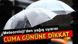 Perşembe günü hava nasıl olacak 21 Kasım Türkiye geneli il il hava durumu tahminleri