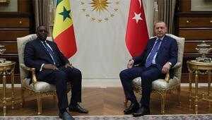 Cumhurbaşkanı Erdoğan, Senegal Cumhurbaşkanı ile görüştü