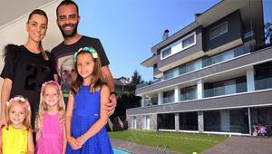Semih Şentürk ile Pınar Şentürkün villasına ziyaretçi akını Bakan çok, alan yok