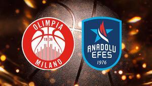 Milano Anadolu Efes maçı ne zaman saat kaçta hangi kanalda