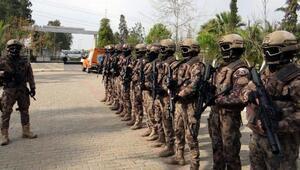 Özel harekat polisi ve AFAD ekiplerinden ortak tatbikat