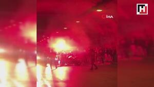 Magandalar cadde üzerinde tabancalarla havaya rastgele ateş açtı