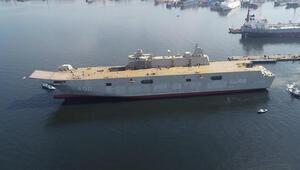 Türkiyenin en büyük savaş gemisi 2020de hizmete girecek