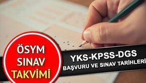 2020 ÖSYM sınav takvimi YKS - KPSS - DGS - ALES - YÖKDİL ne zaman