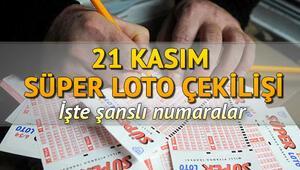 Süper Lotoda  13 milyon devretti 21 Kasım MPİ Süper Loto çekiliş sonuçları ve sorgulama ekranı