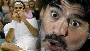 Maradona, Federeri ağlattı O sözler...