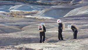 Dünyada Marsı deneyimleme fırsatı Ziyaretçilerin uzay kıyafeti giymeleri zorunlu...
