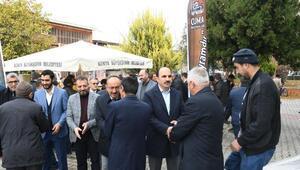 Başkan Altay, Ateş Baz-ı Veli Camii'nde vatandaşlarla buluştu