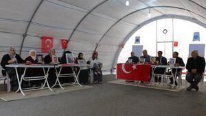 HDP önündeki eylemde 81inci gün