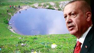Cumhurbaşkanı Erdoğandan Dipsiz Göl talimatı İşte 4 maddelik eylem planı