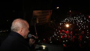 Cumhurbaşkanı Erdoğan:  Bulduk ve onları da oradan şimdi topluyoruz