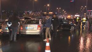 İstanbulda 11 aracın karıştığı zincirleme trafik kazası