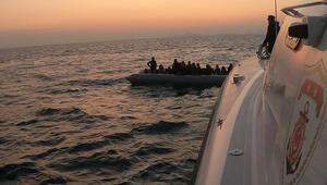 Ayvacıkta 46sı çocuk 83 kaçak göçmen yakalandı