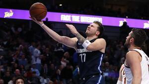 NBAde gecenin sonuçları | Luka Doncicten yeni rekor Üst üste 3 maçta...