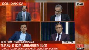 Rahmi turan CNN TÜRK canlı yayınında konuştu
