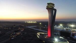 İstanbul Havalimanında günde ortalama 1.204 sefer yapıldı