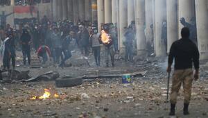 Irakın Necef kentindeki gösterilerde ölenlerin sayısı 18e yükseldi