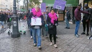 Paris'te 'Kadınlar için adalet'