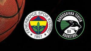Fenerbahçe Beko Darüşşafaka maçı ne zaman saat kaçta hangi kanalda