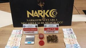 Eskişehir'de uyuşturucu operasyonuna 5 gözaltı
