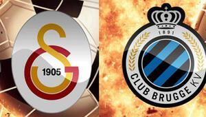 Galatasaray - Club Brugge saat kaçta hangi kanalda Galatasarayın Club Brugge maçında kimler eksik