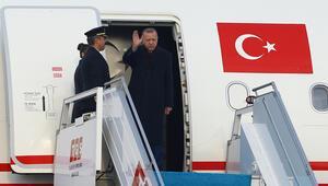 Cumhurbaşkanı Erdoğan Katara gitti