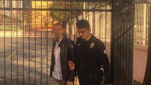 Sınavda fark edildi... Hemen gözaltına alındı