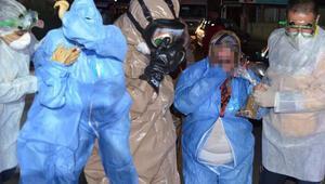 Son dakika haberi: Kapının altından atılan zarftan kimyasal toz çıktı Hastanelik oldular