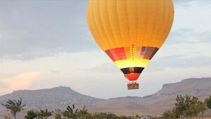 Mardin semalarında balon turu keyfi