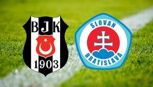 Beşiktaş Slovan Bratislava maçı ne zaman