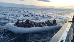 Didim ve Kuşadasında 93 kaçak göçmen yakalandı