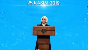 Emine Erdoğan: Söz konusu şiddetse kol kırıldığında yen içinde kalamaz
