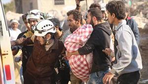 İdlibde 25 günde 50 bin sivil yerinden edildi 100 sivil öldürüldü