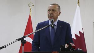 Son dakika... Cumhurbaşkanı Erdoğan Katarda