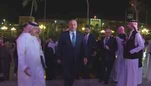 Çavuşoğlu, İslam İşbirliği Teşkilatının 50. kuruluş yıl dönümü törenine katıldı