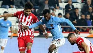 Antalyaspor - Gaziantep FK: 1-1