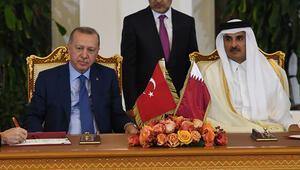 Türkiye ve Katardan ortak bildiri