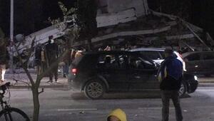 Arnavutlukta 6.4 büyüklüğünde deprem