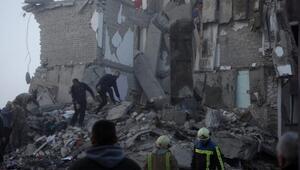 Arnavutluktaki depremde ölü sayısı 50ye yükseldi