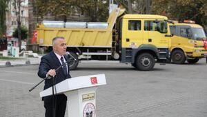 Lüleburgaz'ın 31 köyüne çöp kamyonu konteyner dağıtıldı