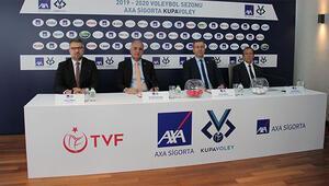AXA Sigorta Kadınlar Kupa Voley 1. etap eşleşmeleri belli oldu
