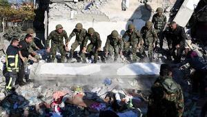 Avrupada deprem fırtınası: Ordu alarma geçti Türkler enkaz altından çıkarıldı