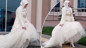 Mahkemede ilginç anlar Hakim şaşırdı, eşi ağladı...