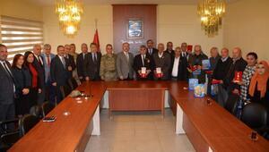 Kırıkhanda Kıbrıs gazilerine devlet öğünç madalyası verildi