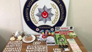 Çorluda uyuşturucu operasyonunda 3 tutuklama